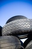 Tire Recycling, Landfill Royalty Free Stock Photography