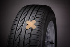 Tire repair (concept) Stock Photography