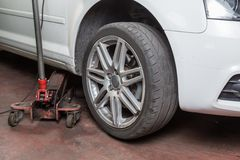 Tire repairer Royalty Free Stock Photo