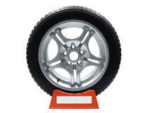 Tire and rim Royalty Free Stock Image