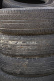 Tire's stack. Stack of Tire close up Stock Image