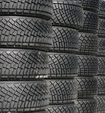 Tire's stack Royalty Free Stock Photos