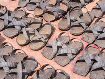 Tire sandals Royalty Free Stock Image