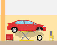 Tire service Royalty Free Stock Images