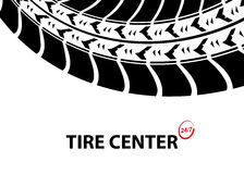 Tire shop Royalty Free Stock Photo