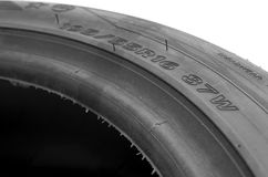Tire size Royalty Free Stock Image
