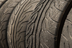 Tire stack Royalty Free Stock Image
