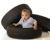 Tire-Stuck Stock Images