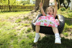 Tire Swing Stock Images