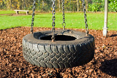Tire swing Royalty Free Stock Photos