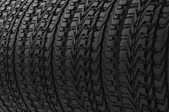 Tire texture background Royalty Free Stock Images