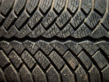 Tire Texture. In close up details Stock Photos