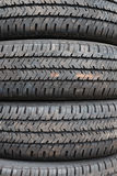 Tire texture Stock Images