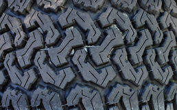 Tire thread patter Stock Photo