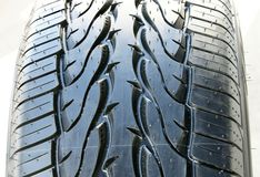 Tire thread texture Stock Photography