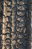 Tire Track Royalty Free Stock Images