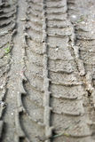 Tire Track Stock Photo