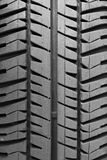 Tire track. A single tire track in the vertical Royalty Free Stock Image
