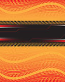 Tire track background Royalty Free Stock Photo