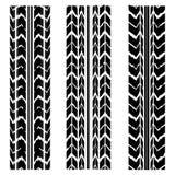 Tire track design Stock Photos