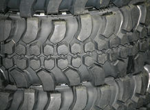 Tire Track Off Road Stock Image