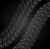 Tire track print Royalty Free Stock Photos