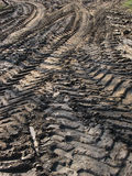 Tire tracks Stock Photography