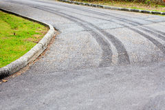 Free Tire Tracks Stock Photo - 25668350