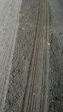 Tire tracks Stock Photos