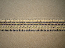 Tire tracks. Detailed tire tracks on beach - Brazil stock photos
