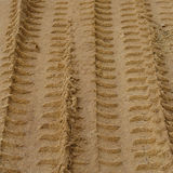 Tire tracks prints Royalty Free Stock Image