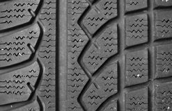 Tire tread. Close up of tire tread for background stock photo