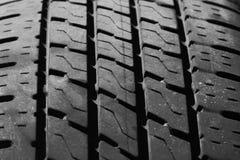 Tire Tread. Close up view of tire tread Royalty Free Stock Photos
