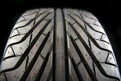 Tire tread. Closeup of tire tread pattern Royalty Free Stock Photos