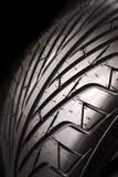 Tire tread. Closeup of rubber tire tread Stock Image
