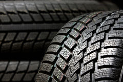 Tire tread close up Stock Image