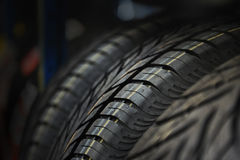 The tire tread. Conceptual background. Royalty Free Stock Images