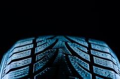 Tire tread. Image of a rubber tire tread Stock Photo