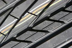 Tire Tread Macro Royalty Free Stock Photos