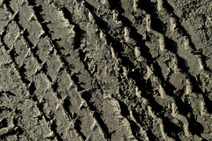 The tire tread mud background Royalty Free Stock Images
