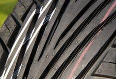 Tire tread new Royalty Free Stock Photos