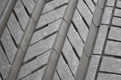 Tire tread pattern Royalty Free Stock Photography
