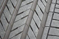Tire tread pattern Royalty Free Stock Photography