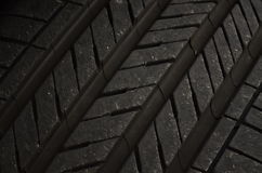 Tire tread pattern Royalty Free Stock Images