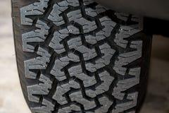 Tire tread pattern Royalty Free Stock Photos