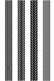 Tire tread patterns Royalty Free Stock Images