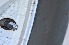 Tire valve Royalty Free Stock Image