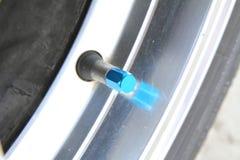 Tire valve stem Stock Images
