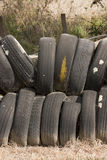 Tire wall Royalty Free Stock Photos