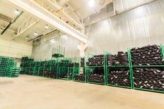 Tire, warehouse Stock Photo